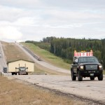 on the road to Hay River 1